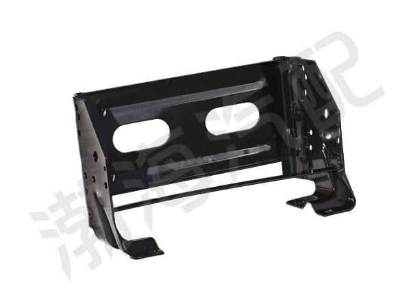 Truck battery box bracket