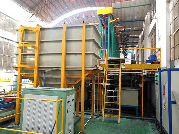 Electrophoretic coating equipment